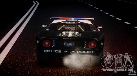 Ford GT1000 Hennessey Police 2006 [EPM][ELS] für GTA 4-Motor
