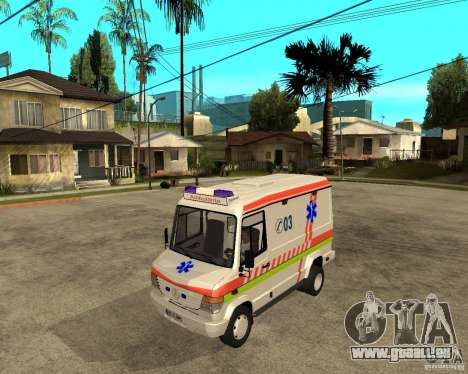 Mercedes-Benz Vario 512 D Ambulamce für GTA San Andreas