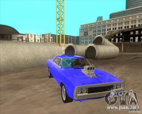 Dodge Charger RT 1970 The Fast and The Furious pour GTA San Andreas