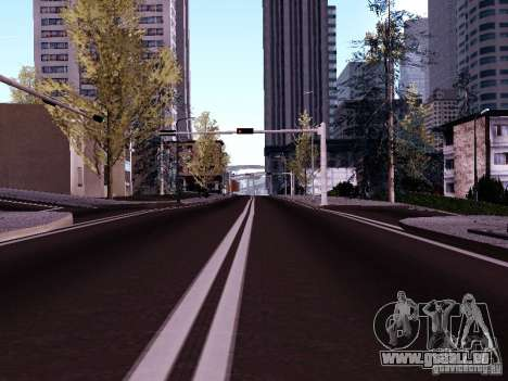 New Roads pour GTA San Andreas quatrième écran