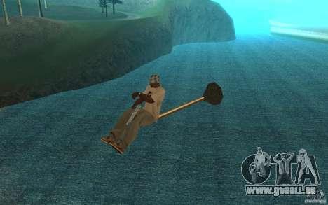 Flying Broom für GTA San Andreas