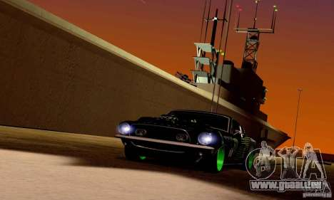 Shelby GT500 Monster Drift pour GTA San Andreas moteur