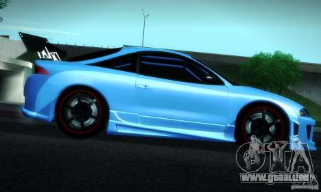 Mitsubishi Eclipse GSX 1999 pour GTA San Andreas vue de côté