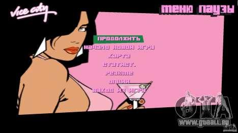 Menu für GTA Vice City zweiten Screenshot