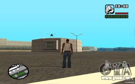 Luftunterstützung, wenn Sie angreift. für GTA San Andreas sechsten Screenshot