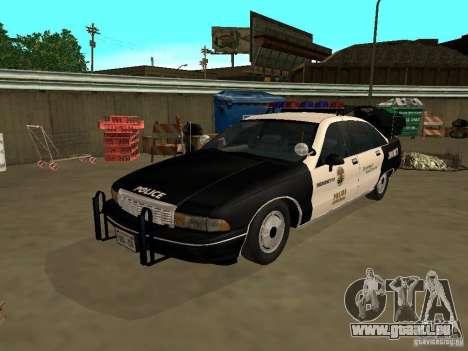 Chevrolet Caprice Police pour GTA San Andreas