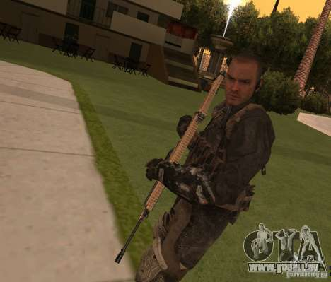 Yuri depuis Call of Duty : Modern Warfare 3 pour GTA San Andreas