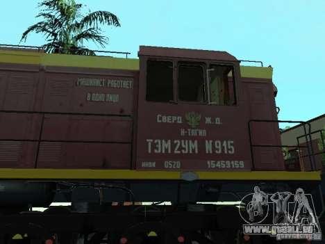 Tem2u-915 pour GTA San Andreas laissé vue