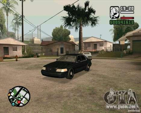 Ford Crown Victoria FBI pour GTA San Andreas