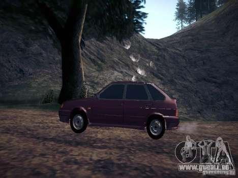 Ваз 2114 Pneumo für GTA San Andreas linke Ansicht