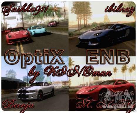 Optix ENBSeries Anamorphic Flare Edition pour GTA San Andreas
