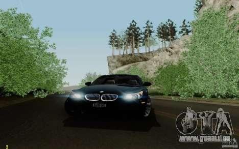 BMW M5 2009 für GTA San Andreas Seitenansicht