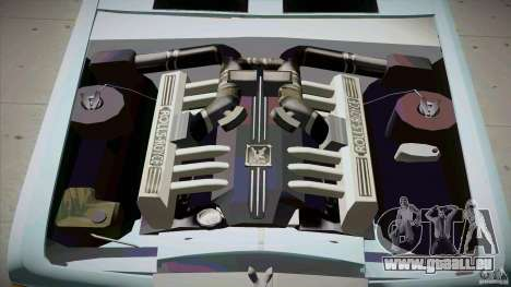 Rolls-Royce Silver Spirit 1990 Limo für GTA San Andreas Unteransicht