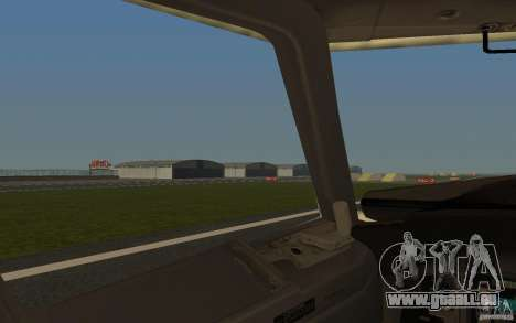 Boeing 737-800 pour GTA San Andreas vue de côté