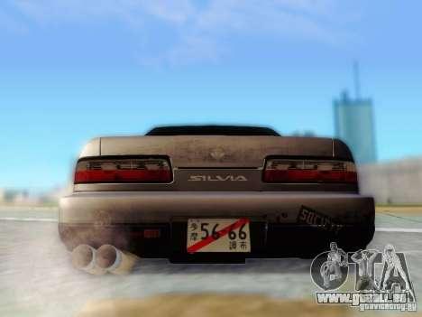 Nissan S13 - Touge pour GTA San Andreas vue intérieure