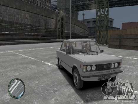 Fiat 125P FSO 1983 pour GTA 4 est un droit