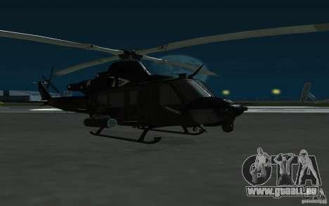 UH-1Y Venom für GTA San Andreas zurück linke Ansicht