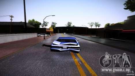 Piétons s'accrochent pour auto pour GTA San Andreas troisième écran