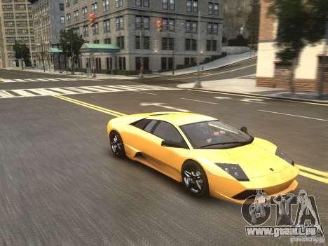 Lamborghini Murcielago LP640 2007 pour GTA 4 est un droit