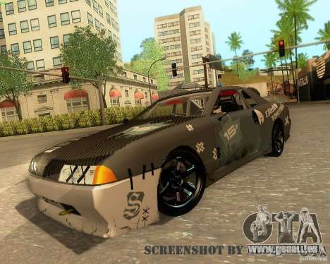 Elegy Drift Korch für GTA San Andreas Unteransicht