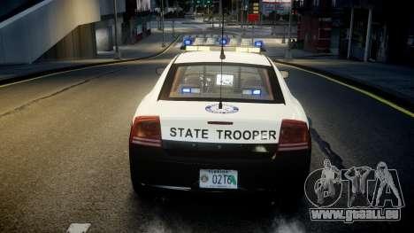 Dodge Charger Florida Highway Patrol [ELS] pour GTA 4 vue de dessus