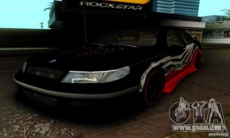 Saab 9-5 Sedan Tuneable pour GTA San Andreas salon