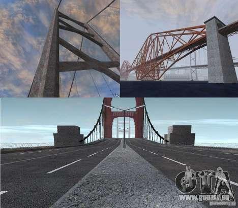 Neue Texturen der drei Brücken in SF für GTA San Andreas