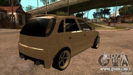 Opel Corsa Tuning Edition pour GTA San Andreas vue de droite