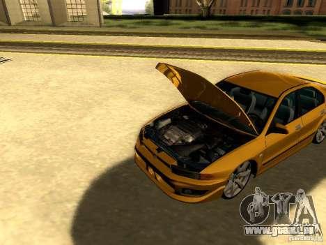 Mitsubishi Galant 2002 pour GTA San Andreas vue intérieure