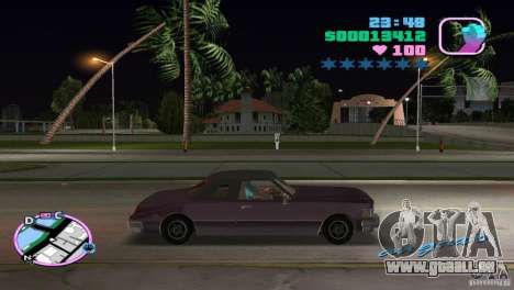 Idaho HD für GTA Vice City linke Ansicht