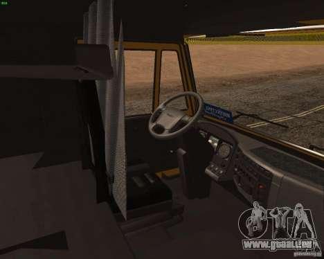 KamAZ 5460 Truckers 2 pour GTA San Andreas vue de droite