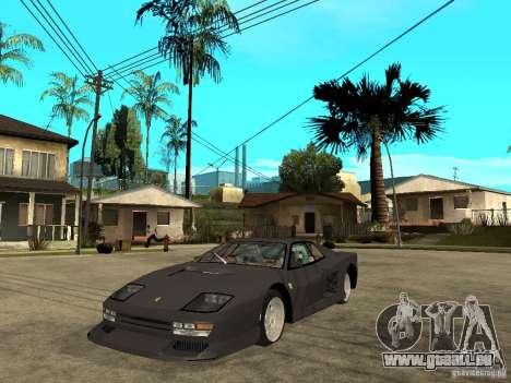 Ferrari TestaRossa Bustard Tuning für GTA San Andreas