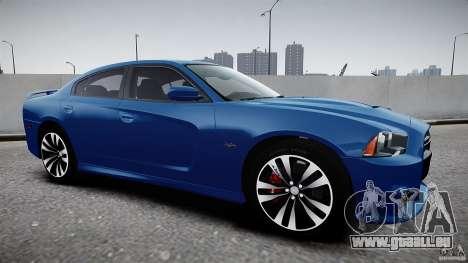 Dodge Charger SRT8 2012 pour GTA 4 Vue arrière de la gauche