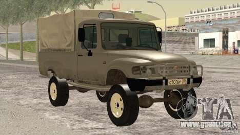 GAS 2308 Ataman für GTA San Andreas Rückansicht