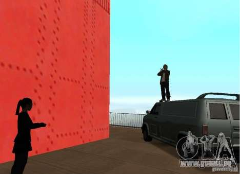 Un attentat-Suicide sur le pont pour GTA San Andreas quatrième écran