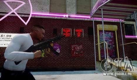 MP5 (CoD: Modern Warfare 3) für GTA 4 Sekunden Bildschirm