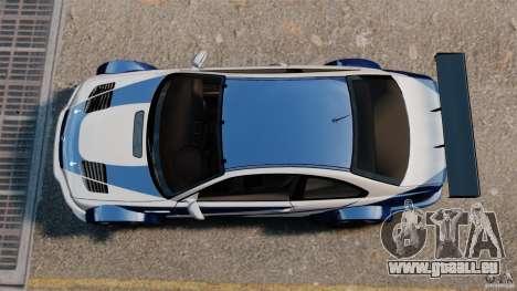 BMW M3 GTR MW 2012 für GTA 4 rechte Ansicht