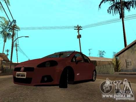 Fiat Punto T-Jet Edit pour GTA San Andreas