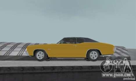 Chevrolet Chevelle SS 1972 pour GTA San Andreas vue de droite