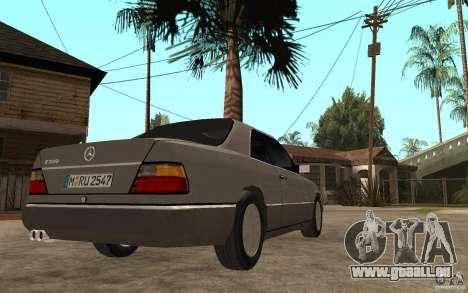 Mercedes-Benz E320 C124 pour GTA San Andreas vue de droite