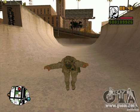 Parkour discipline beta 2 (full update by ACiD) für GTA San Andreas zweiten Screenshot