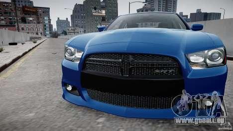 Dodge Charger SRT8 2012 für GTA 4 Rückansicht