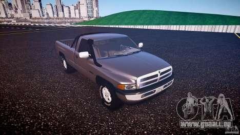 Dodge Ram 2500 1994 pour GTA 4 est une gauche