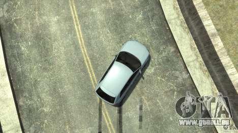 Audi S3 2009 pour GTA 4 est une vue de dessous