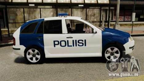 Skoda Fabia Combi Finnish Police ELS für GTA 4 linke Ansicht