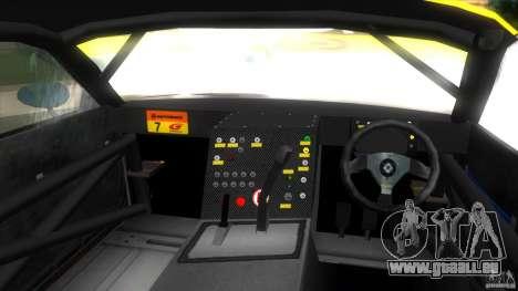 Mazda Re-Amemiya RX7 FD3S Super GT pour une vue GTA Vice City de la droite