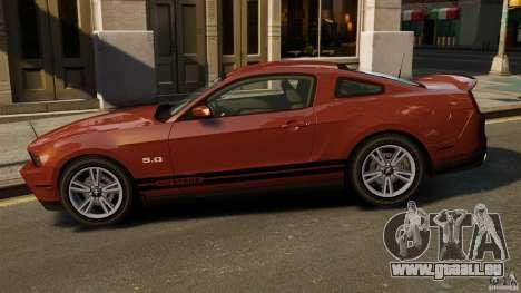 Ford Mustang GT 2011 pour GTA 4 est une gauche