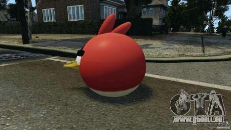 Angry Bird Ped pour GTA 4 secondes d'écran