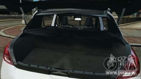 Peugeot 308 GTi 2011 Police v1.1 für GTA 4 Unteransicht