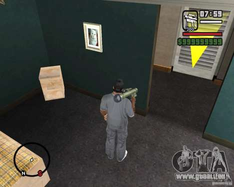 Fim-43 Redeye pour GTA San Andreas troisième écran